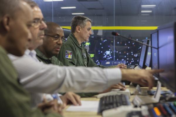 Monitoramento do espaço aéreo de todo o País é coordenado pelo Comando de Defesa Aeroespacial, em Brasília