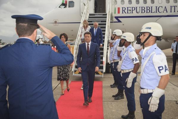 Efetivo foi empregado para a infraestrutura de recebimento de chefes de estado