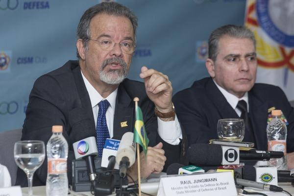 Raul Jungmann ressaltou a participação de 42 mil militares das Forças Armadas na segurança do evento