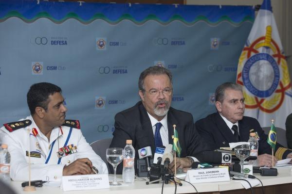 Esse e outros temas foram abordados em entrevista coletiva no Rio de Janeiro