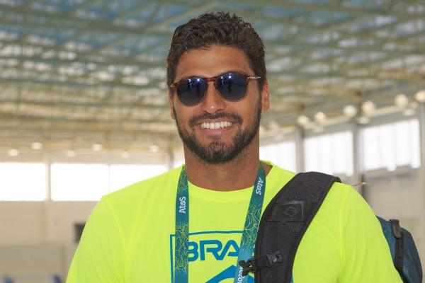 Felipe Silva, atleta de pólo aquático brasileiro