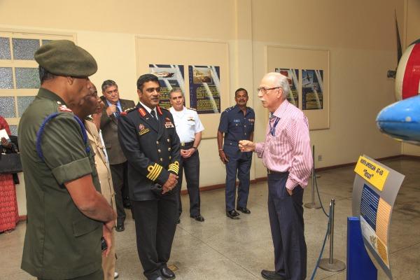 Visitantes conheceram aeronaves históricas e salas de exposições