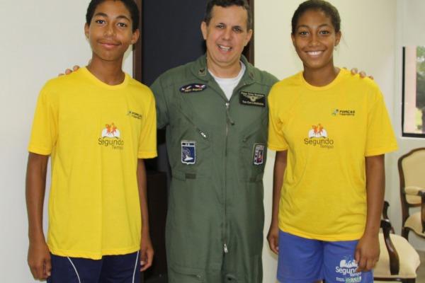 Eles fazem parte do programa desenvolvido no Terceiro Centro Integrado de Defesa Aérea e Controle de Tráfego Aéreo (CINDACTA III)