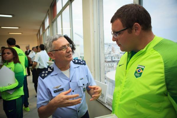 Em mensagem à tropa, Tenente-Brigadeiro Nivaldo Luiz Rossato destaca o trabalho de todas as áreas da FAB envolvidas nos Jogos Olímpicos