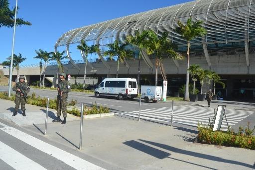 Durante a operação, a Aeronáutica ocupou o Aeroporto internacional de Natal