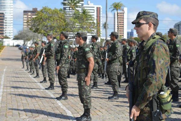 Tropas da BANT e do CLBI atuaram na segurança do Aeroporto Internacional de Natal