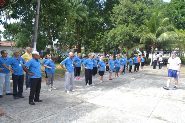 Equipe de reportagem local mostrou o trabalho desenvolvido com idosos