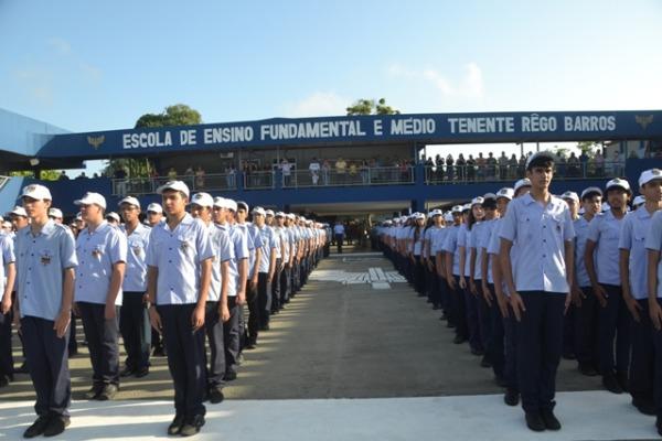 Cerca de 1,5 mil alunos frequentam a escola que é uma das melhores do Pará