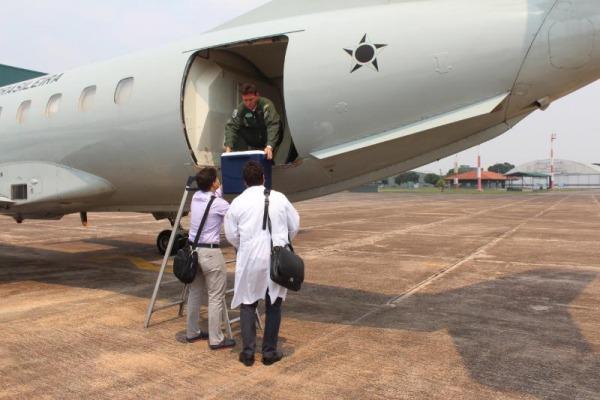 Centro-sul concentra 70% das missões de transporte de órgãos realizadas