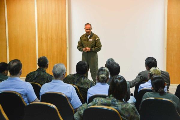 Brig Ar Arnaldo Comandante interino da UNIFA