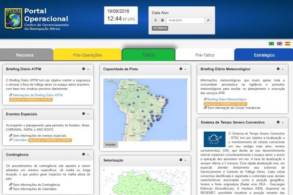 Dados do Centro de Gerenciamento da Navegação Aérea facilitam planejamento de voos nacionais e internacionais