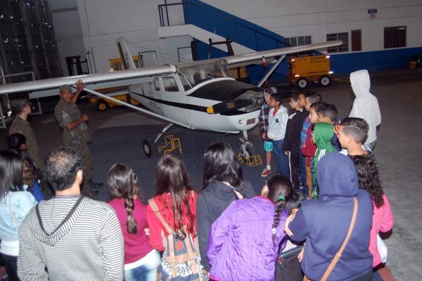 Esta é a segunda edição promovida na Base Aérea de Santos