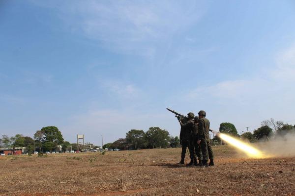 O objetivo foi capacitar os militares das unidades de tiro