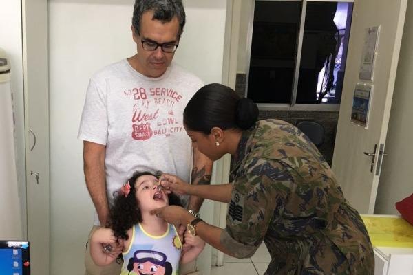 O esforço de vacinação vai até o dia 30 de setembro
