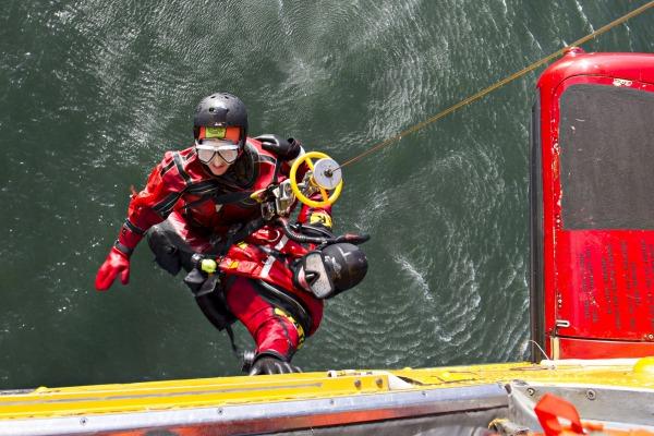 Como observador, militar do Esquadrão Pelicano acompanhou treinamento encerrado no domingo (24/09)