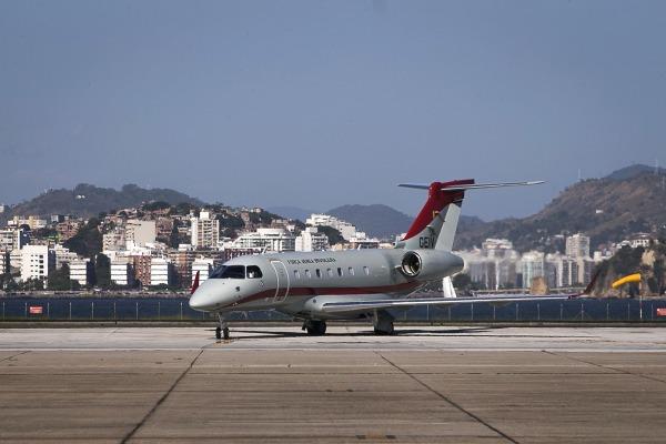 Primeira unidade do Legacy 500, da Embraer, chegou ao Grupo Especial de Inspeção em Voo