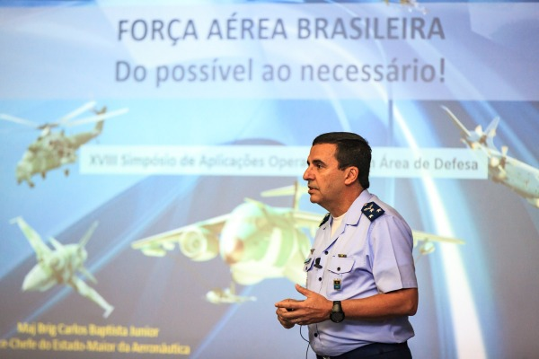 Em palestra de abertura, Vice-chefe do EMAER apresenta necessidades operacionais da FAB para os próximos 25 anos