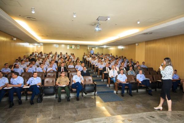 Cerca de 140 participantes de diversas unidades da FAB e de outras instituições assistiram às apresentações