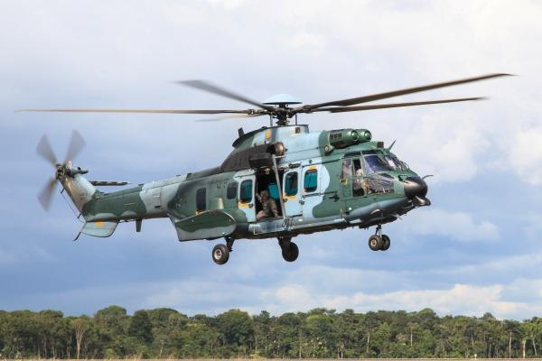 A aquisição do H-36 Caracal faz parte do programa H-XBR, que prevê o reaparelhamento das Forças Armadas