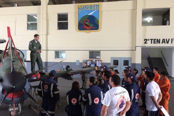 Participantes conhecem as principais partes do A-29
