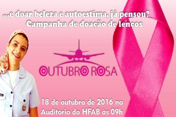 Proposta é melhorar autoestima de mulheres com câncer de mama. Doações podem ser feitas até 31 de outubro