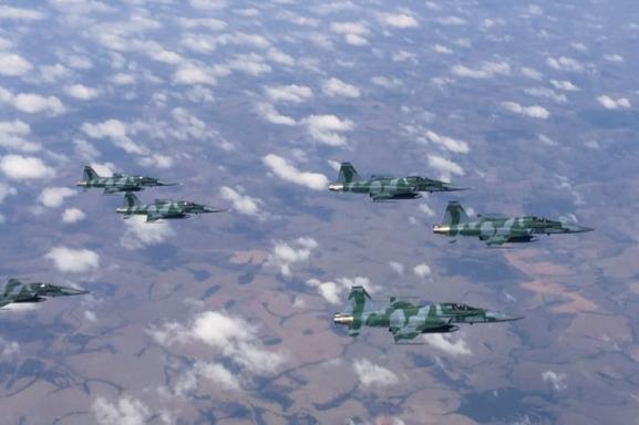 O treinamento foi a oportunidade de formar líderes de esquadrão da aviação de caça
