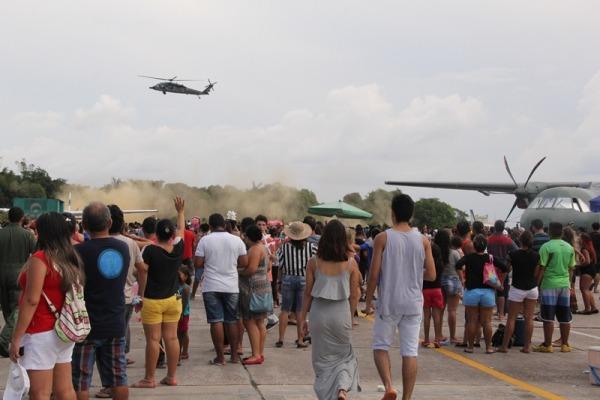 Portões abertos em Manaus