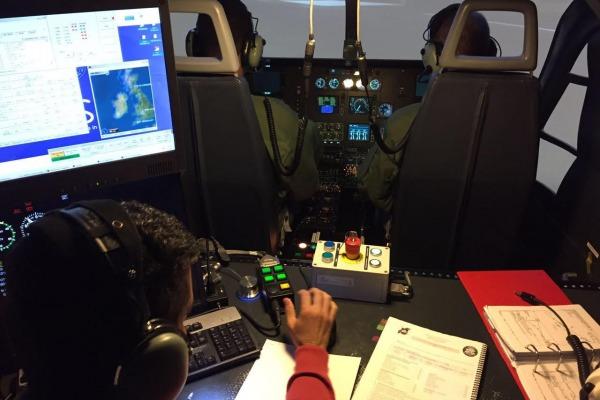 As instruções foram ministradas pelo Esquadrão do Grupo de Transporte Especial