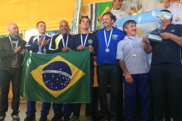As competições foram realizada na Argentina e em Brasília