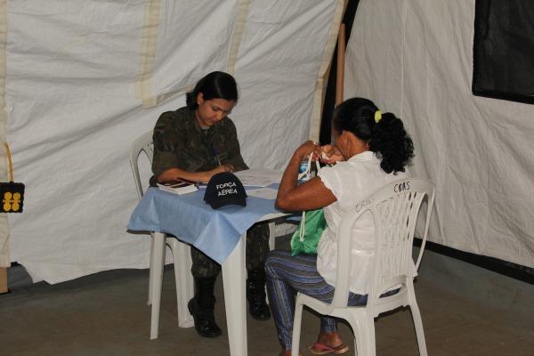 A ação social ocorreu durante a Operação Amazônia