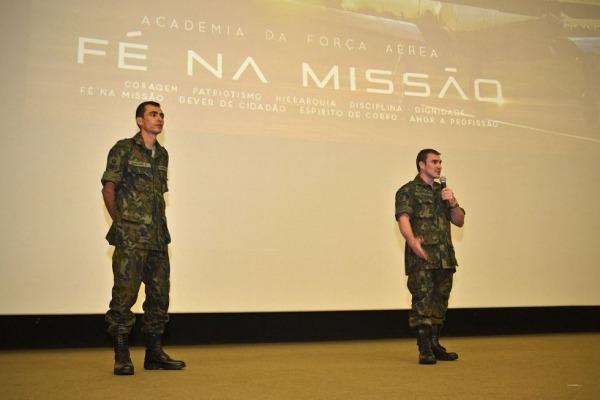Palestra faz parte do Programa de Formação de Valores, da Academia da Força Aérea Brasileira