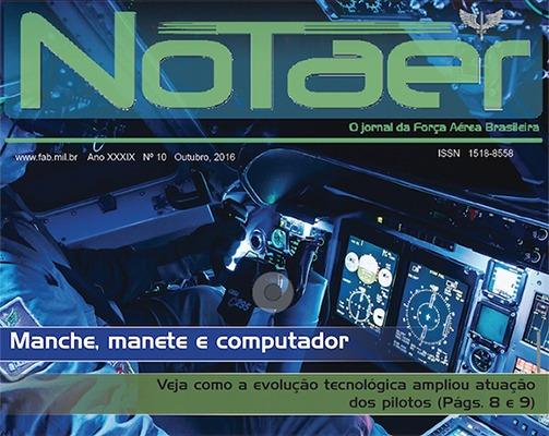 Jornal também traz os 10 anos da aeronave C-105 na FAB