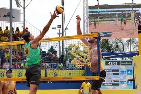 Terceira etapa foi realizada em arena montada na cidade de Uberlândia