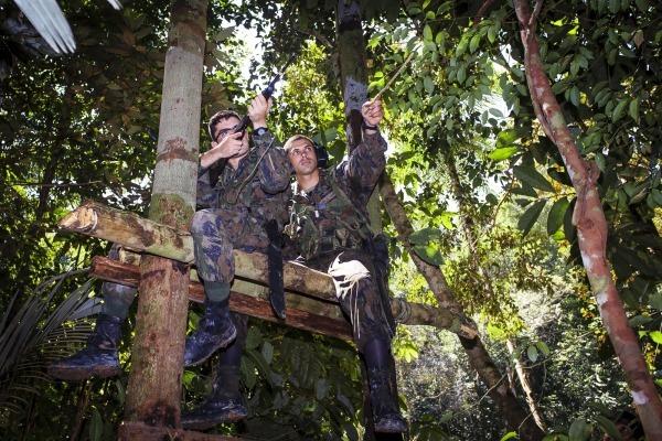O Curso de Adaptação Básica ao Ambiente de Selva é realizado em município no interior do Amazonas