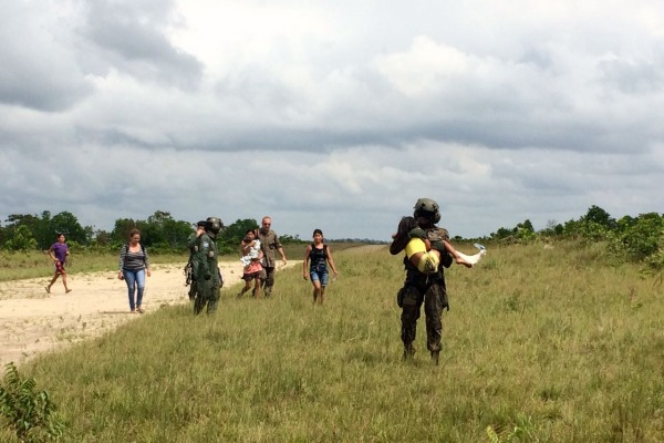 Evacuação Aeromédica aconteceu na aldeia de Cuxaré, no estado do Pará, a 900km de Belém