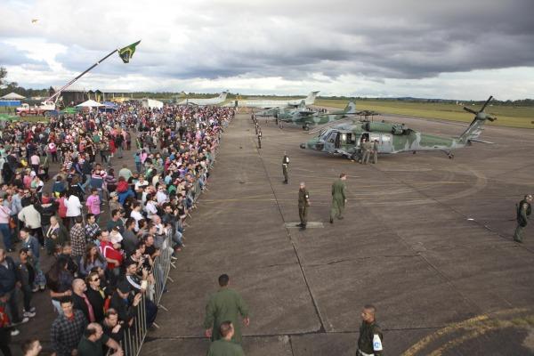 Em 2015, a Base Aérea de Canoas recebeu 40 mil visitantes