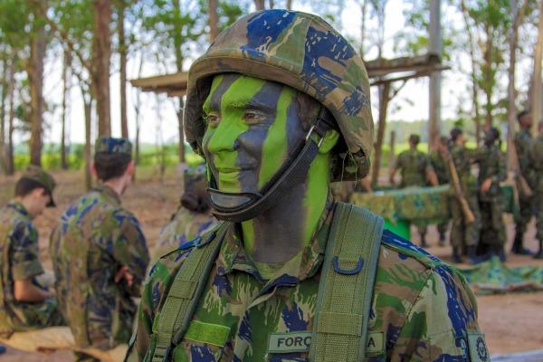 Ao todo, 26 sargentos da aeronáutica fizeram um estágio de adaptação e reciclagem na Academia da Força Aérea (AFA), no interior de São Paulo