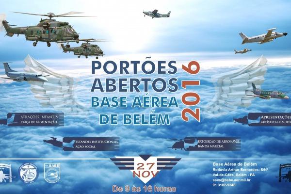 Público poderá conferir de perto aeronaves de combate