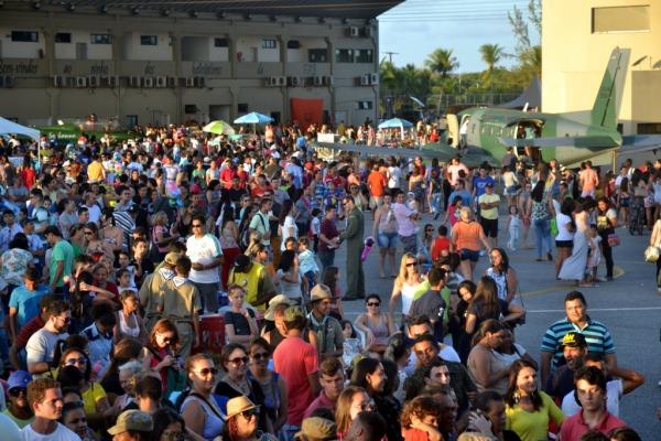 20 mil pessoas estiveram presentes ao Portões Abertos da BANT 2016