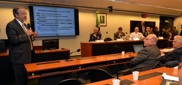Audiência pública foi realizada na Comissão de Relações Exteriores e Defesa Nacional da Câmara dos Deputados
