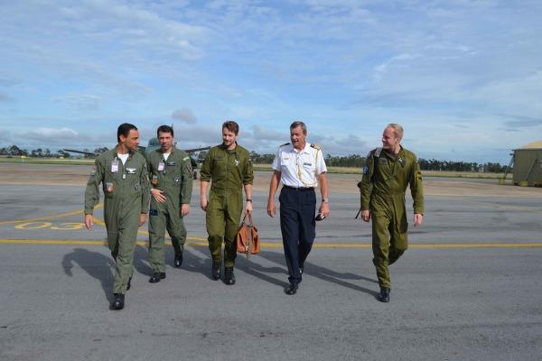 Intercâmbio entre os militares suecos e brasileiros ocorreu na Base Aérea de Anápolis