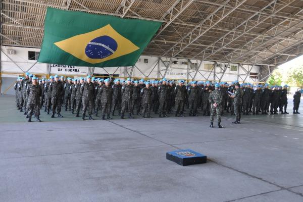 Contingente é formado por 990 militares entre homens e mulheres de unidades do Nordeste