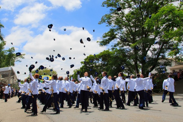 Os novos oficiais da FAB atuarão em várias Organizações Militares pelo país