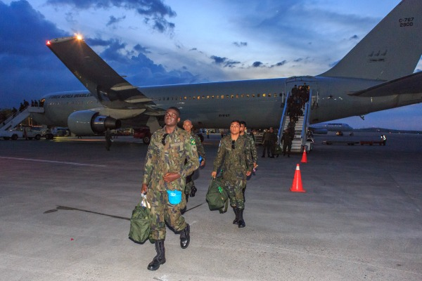 Desembaque em Porto Príncipe