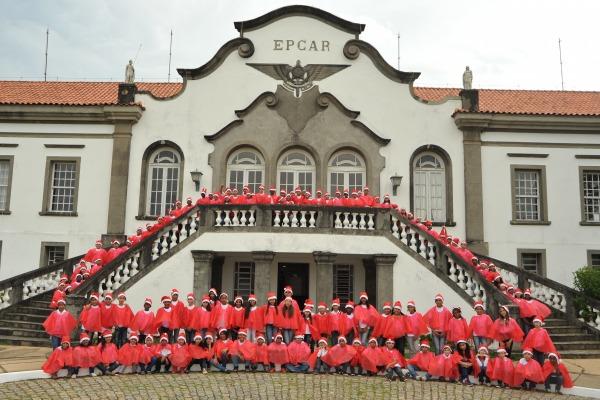 Este ano, 45 crianças concluíram a participação no programa desenvolvido em Barbacena (MG)