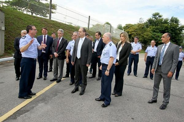 Ricardo José Magalhães Barros conheceu as instalações da unidade