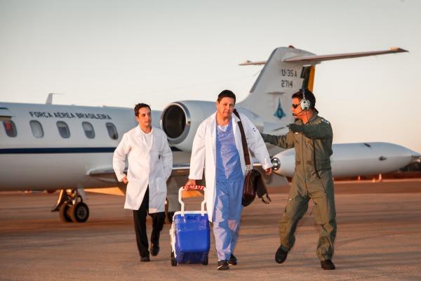 Força Aérea Brasileira intensifica participação em transporte de órgãos para transplante