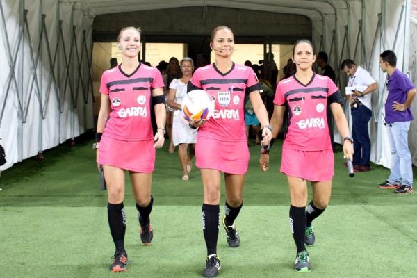 Dia Internacional da Mulher – Arena Pernambuco:  três mulheres no comando de uma