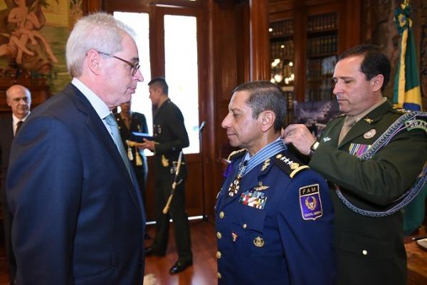 Solenidade ocorreu na Embaixada do Brasil no México