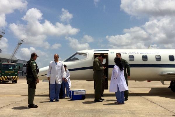 Esquadrão Guará, sediado em Brasília, realizou a missão